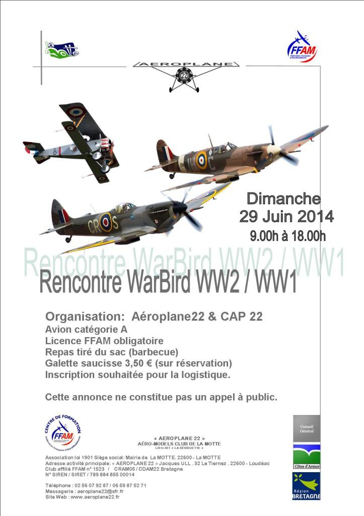 lettre_aeroplane_Warbirb_WW2